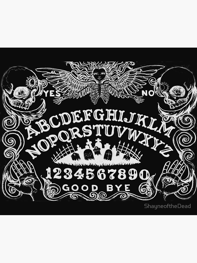 black ouija by ShayneoftheDead