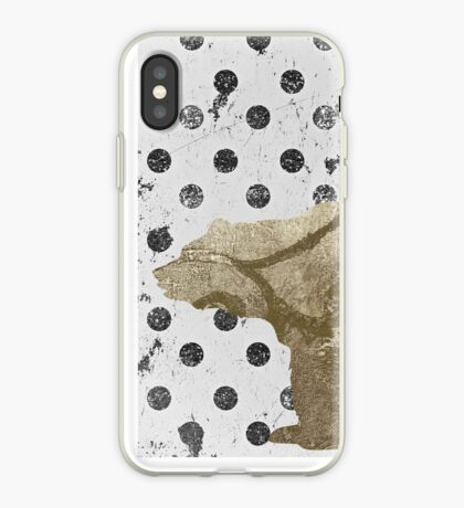 Forest Glam Bear iPhone Case