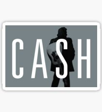 Johnny Cash - The Man In Black Sticker