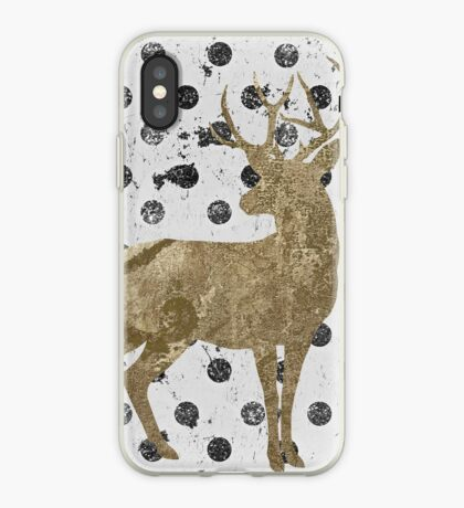 Forest Glam Deer iPhone Case