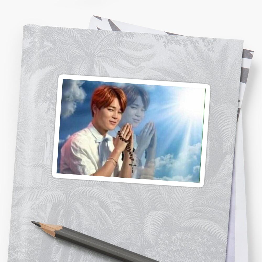 BTS Jimin Praying meme by mapao