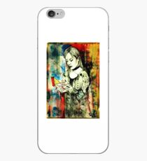 Ex- Libris # 2 ( The Ghost And The Goth )  iPhone Case