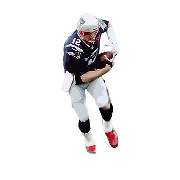 Tom Brady - AFC Championship 2018 by Swiffer16