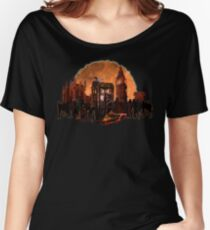 trapped in a zombie world Women's Relaxed Fit T-Shirt