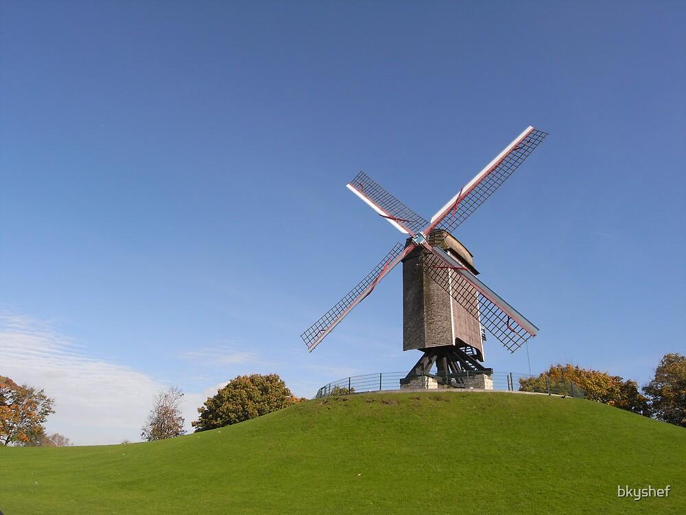 Windmill by bkyshef
