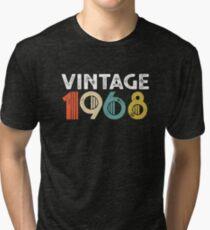 Camiseta de tejido mixto Vintage 1968 - 50 aniversario