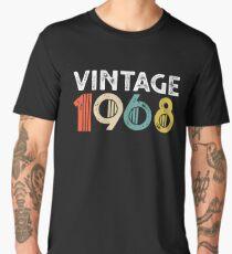 Camiseta premium para hombre Vintage 1968 - 50 aniversario