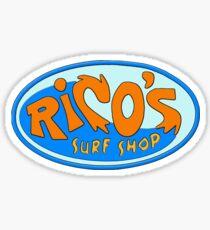 rico's surf shop miley cyrus hannah montana Sticker