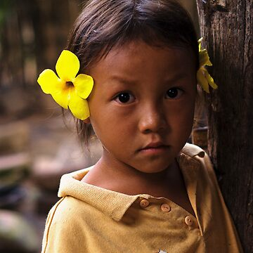 Hmong Flower Girl by dopeytree
