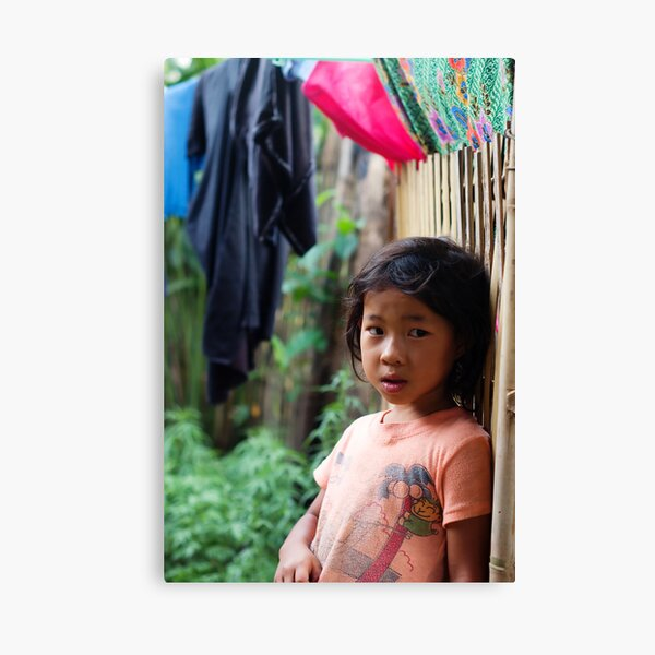 Hmong Girl Canvas Print