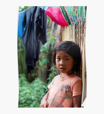 Hmong Girl Poster