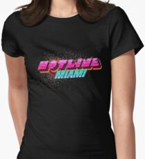 Hotline Miami ! Women's Fitted T-Shirt