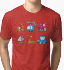 Kid trasport Tri-blend T-Shirt