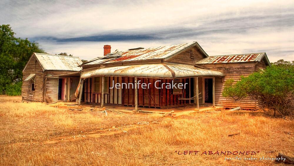 """Left Abandoned"" by Jennifer Craker"