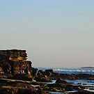 The Guardian of the Coast Line - Caves Beach NSW by Bev Woodman