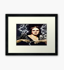 Mary Shelley Framed Print