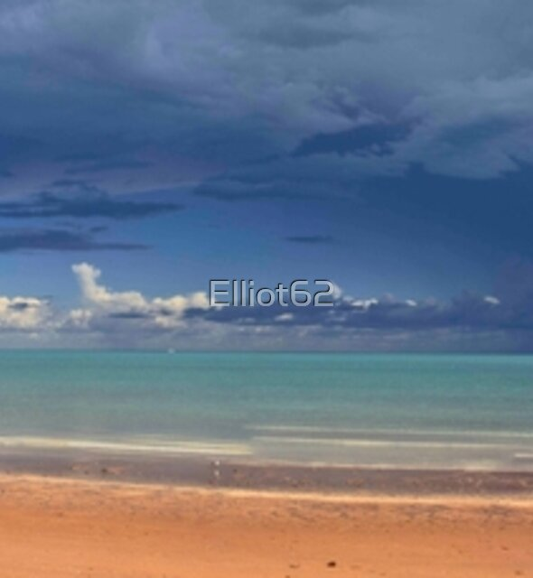 Town Beach Afternoon Rain Storm  by Elliot62