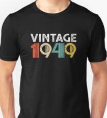 Vintage 1949 - 69th Birthday Slim Fit T-Shirt