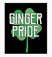 Ginger Pride Gift For Paddys St Patricks Day T-Shirt Sweater Hoodie Iphone Samsung Phone Case Coffee Mug Tablet Case Photographic Print
