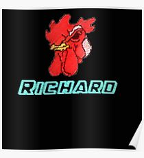 Hotline Miami - Richard! Poster