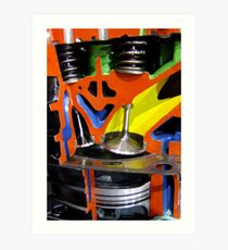 Combustion Chamber Art Print