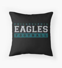 Philadelphia Eagles Football Collegiate Tee Throw Pillow