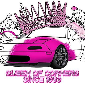 Queen of Corners - Mazda Miata by MiataApparel