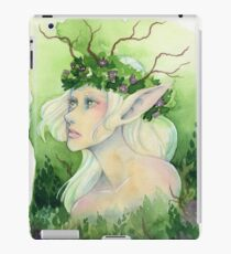 Fairy with Flower Crown iPad Case/Skin
