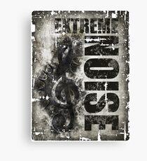 Extreme Noise Canvas Print