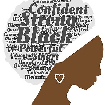 Afro Word Art Black History Art by albertoro2