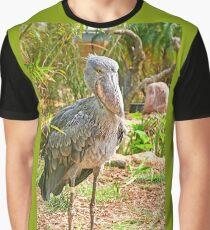 Shoebill Stork Graphic T-Shirt