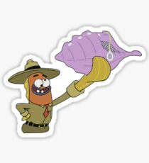 Magic Conch Shell Stickers Redbubble