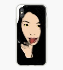 FUNNY GIRL! - POP ART  iPhone Case