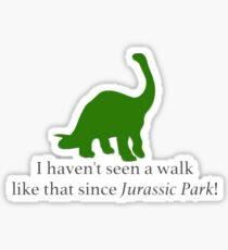 Walk Sticker