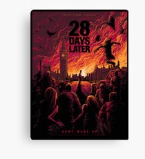 28 Days Later  Canvas Print