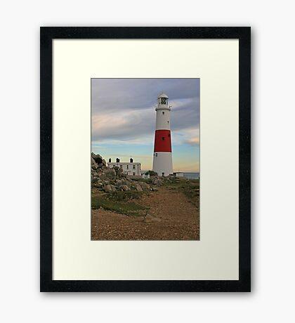 Portland Bill Lighthouse, Dorset Framed Print