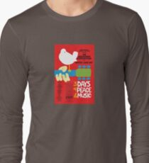 Woodstock Concert  Long Sleeve T-Shirt