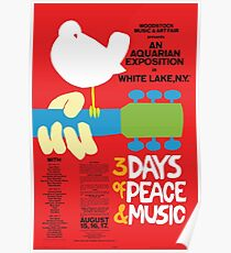 Woodstock Concert  Poster