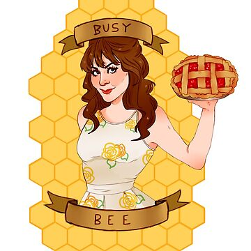 PUSHING DAISIES - CHARLOTTE BUSY BEE by Namewithsense