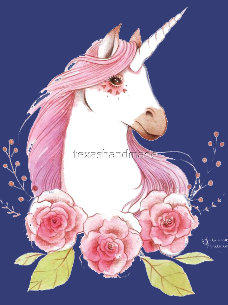 Magical Unicorns in pink by texashandmade