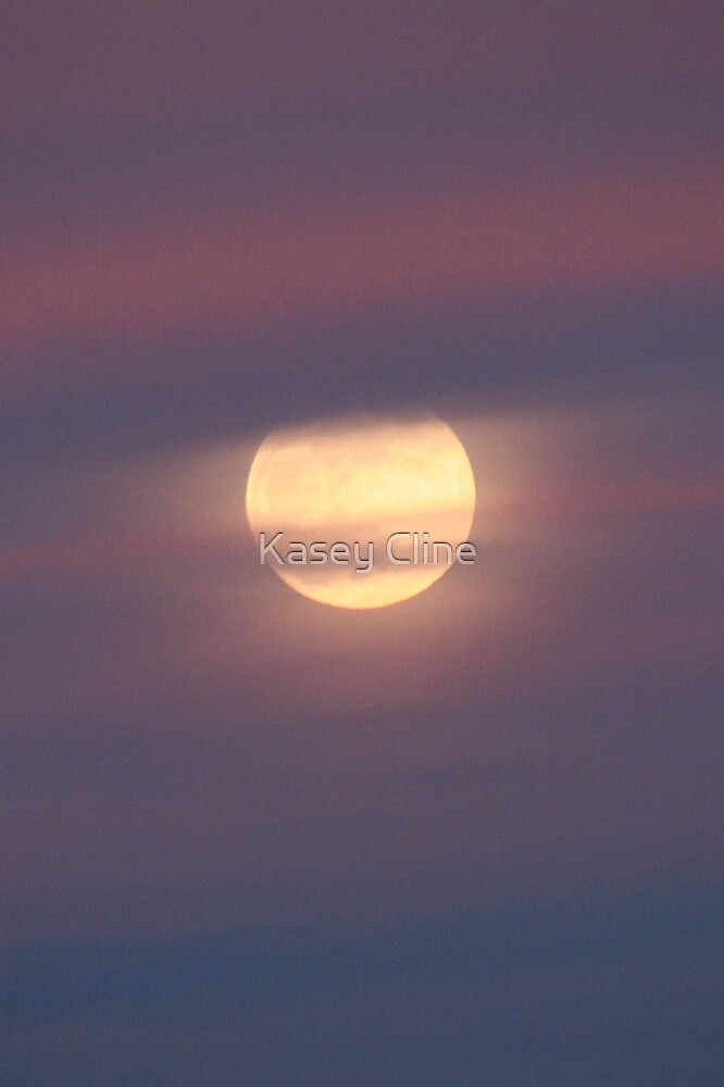 The Moon that killed my camera! by Kasey Cline