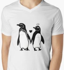 I penguin you  Men's V-Neck T-Shirt