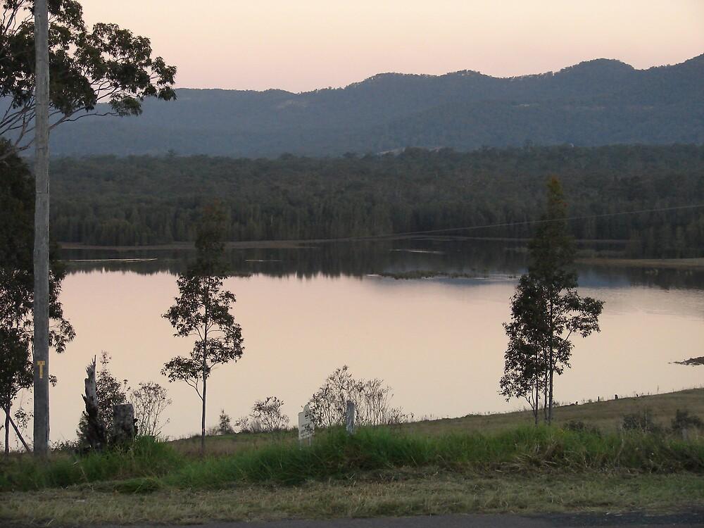 Hunter Valley Sunset by Vanessa Moss