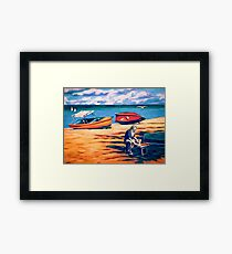Beachcomber's Supper Framed Print
