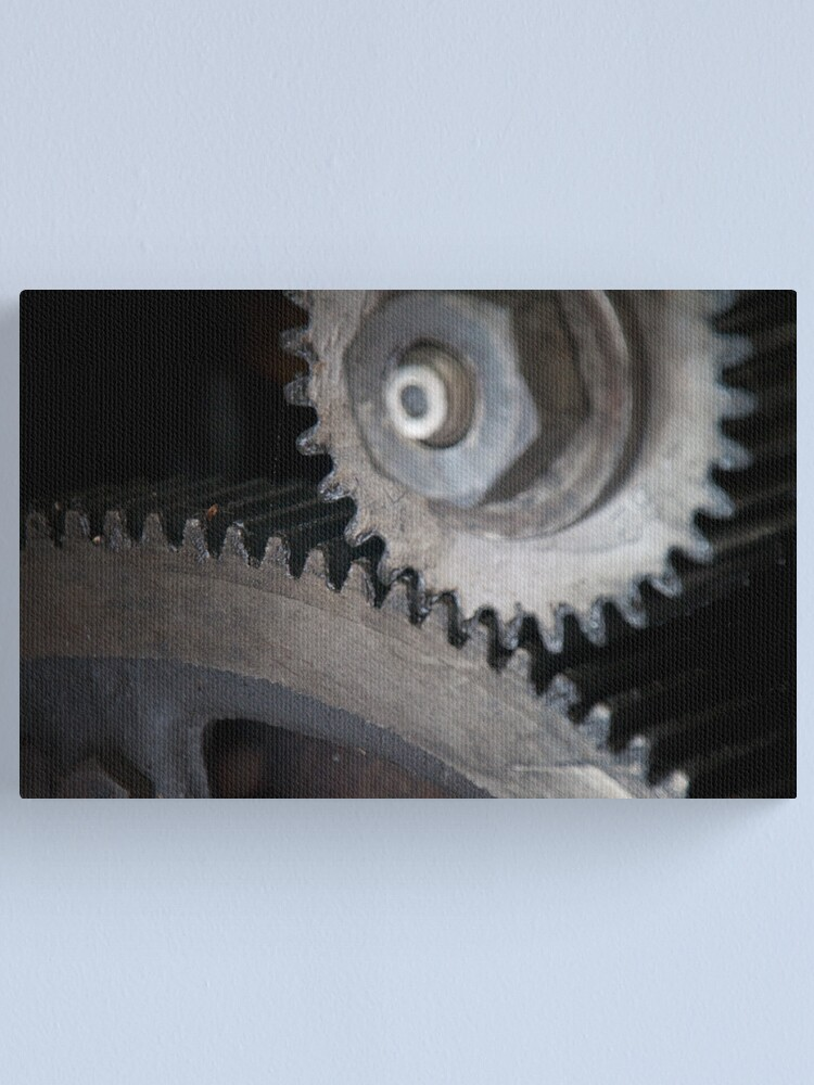 Alternate view of Gears Canvas Print
