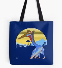 Pterosaur Sunset (Dark Version) Tote Bag