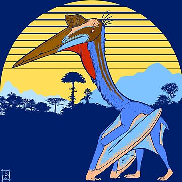 Pterosaur Sunset (Dark Version) by alaskanime