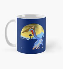 Pterosaur Sunset (Dark Version) Mug