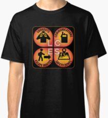 LCES: Lookouts, Communications, Escape Routes, Safety Zones Classic T-Shirt