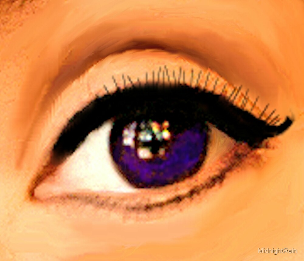 Violet Eye by MidnightRain
